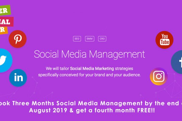 Social Media Management Offer