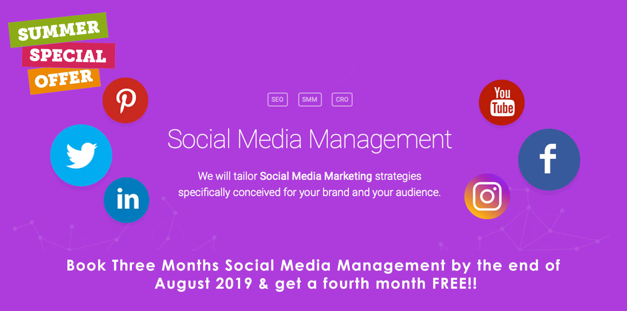 Social Media Management Offer
